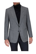 Tom Ford - Shelton Gray Houndstooth Wool Sportcoat
