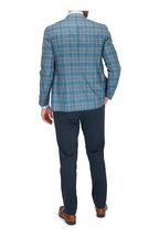 Eton - Blue Twill Contemporary Fit Dress Shirt
