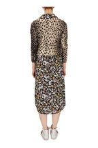 R13 - Cheetah Print Cashmere Distressed Baby Cardigan