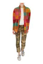 R13 - Kate Beige Camo Cuffed Skinny Jean