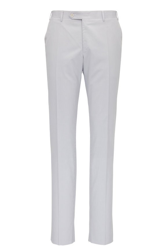 Canali Light Blue Seersucker Pant