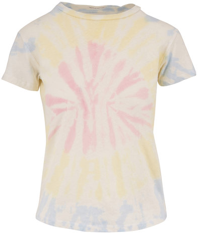 Mother Denim The Sinful Pink Spiral Out Of Control T-Shirt