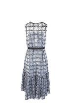Huishan Zhang - Daisy Black & White Sequin Fit & Flare Dress