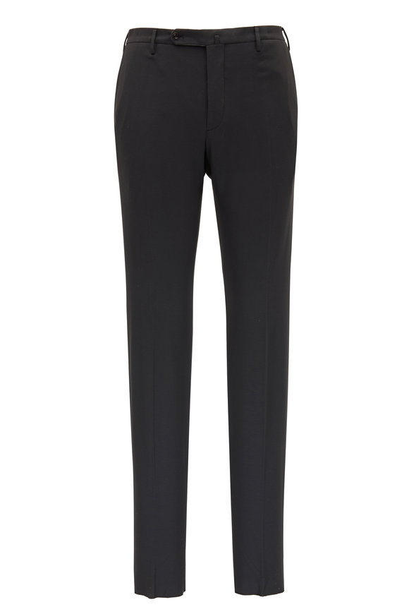Incotex Matty Charcoal Comfort Jersey Pant