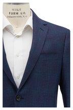 Maurizio Baldassari - Blue Plain Weave Wool Sportcoat
