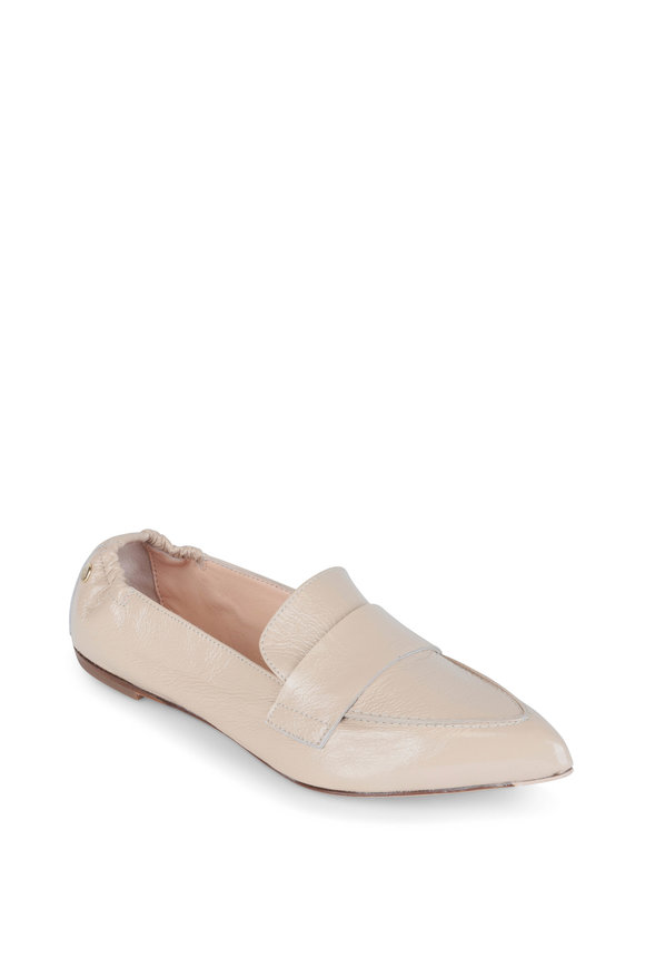 AGL Desert Patent Leather Pointed Flat