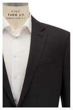 Ermenegildo Zegna - Dark Gray Tonal Plaid Stretch Wool Suit