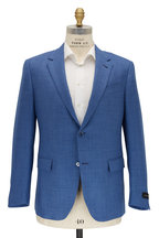Ermenegildo Zegna - Light Blue Textured Wool Sportcoat