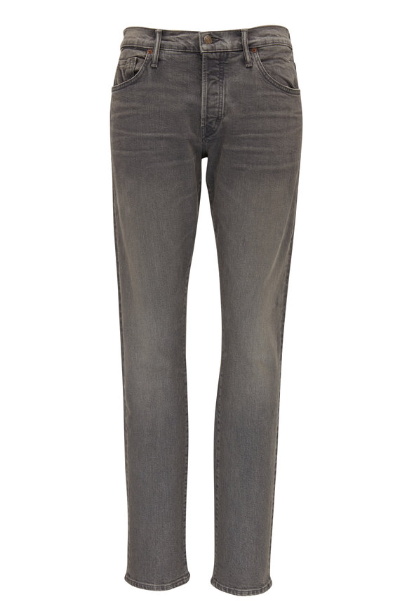 Tom Ford Gray Stretch Cotton Slim Fit Jean