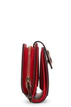 Christian Louboutin - Paloma Black & Leopard Print Leather Flap Wallet