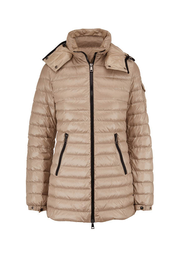 Moncler Menthe Giubbotto Champagne Puffer Jacket
