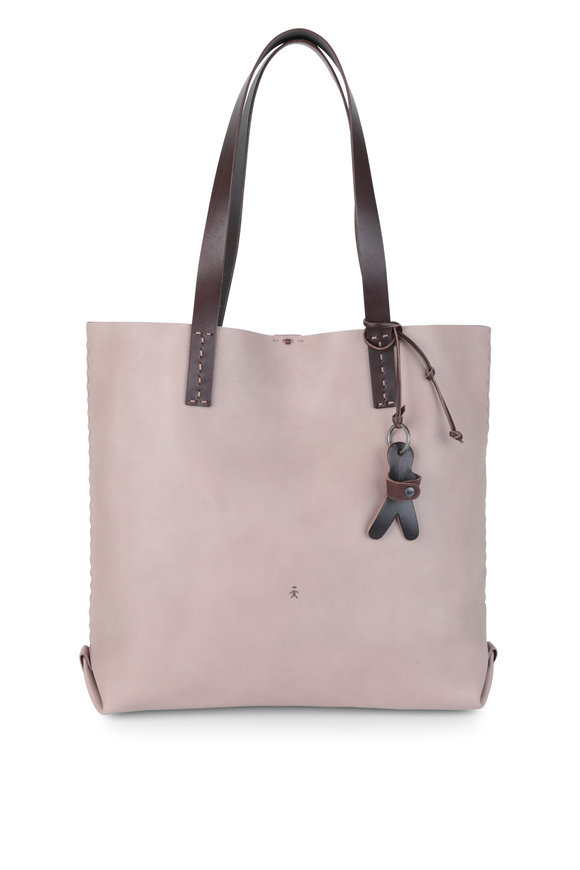 Henry Beguelin Isa Mauve Cervo Large Shopping Tote