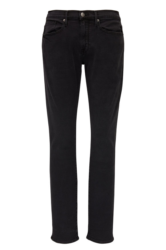 Frame L'Homme Washed Black Slim Fit Jean