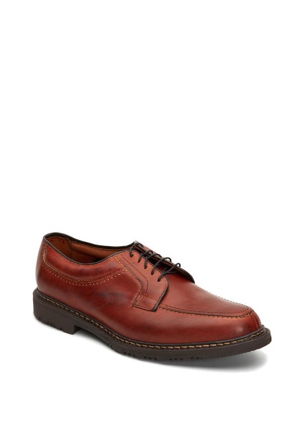 Allen Edmonds Wilbert Brown Leather Derby Shoe