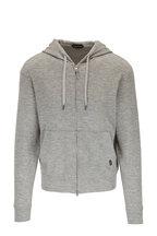 Tom Ford - Grey Cashmere Zip Hoodie