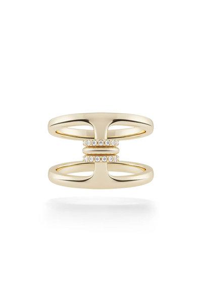Hoorsenbuhs - Hoorsenbuhs x Spinelli Kilcollin Gold Phantom Ring