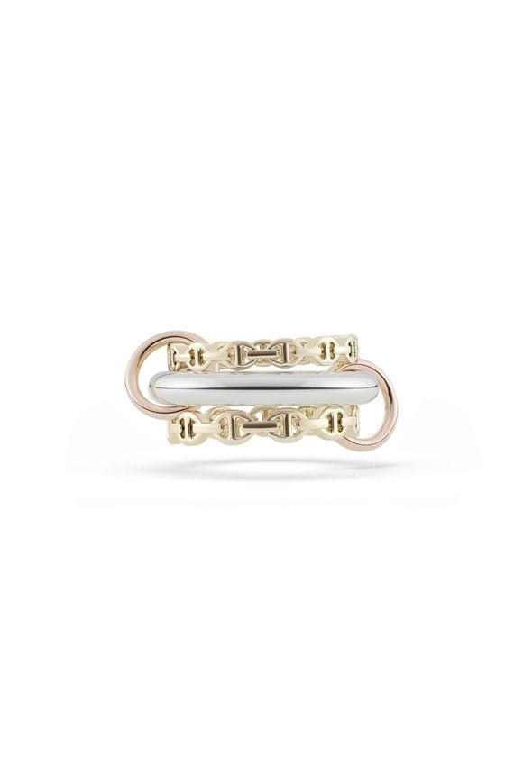Hoorsenbuhs Hoorsenbuhs x Spinelli Kilcollin Three-Link Ring