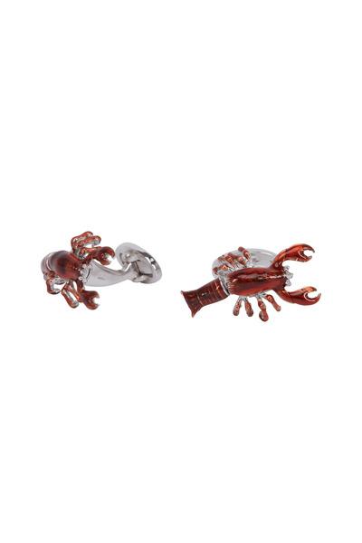 Jan Leslie - Sterling Silver Moving Lobster Cuff Links
