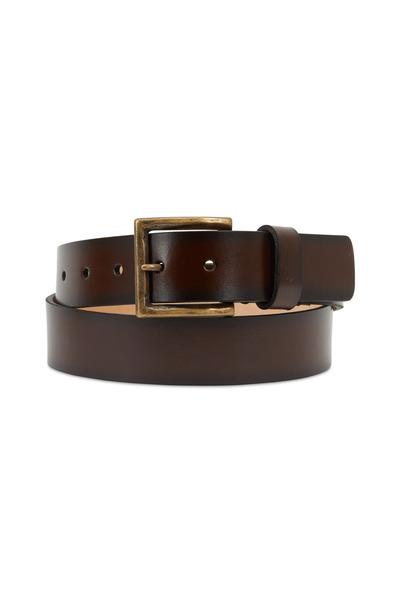 Trafalgar - Ashton Brown Leather Belt