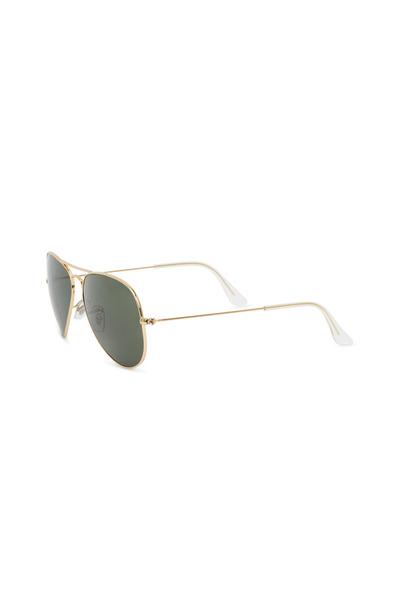 Ray Ban - RB3025 Gold Aviator Sunglasses