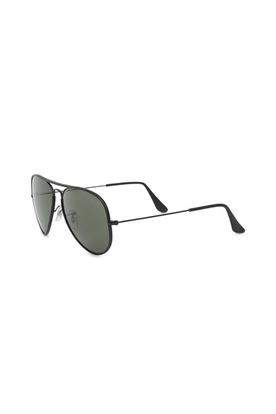 Ray Ban - RB3025 Black & Green Aviator Sunglasses