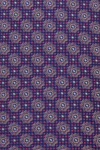 Eton - Purple & Lavender Tile Print Silk Necktie