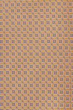 Eton - Yellow & Lavender Geometric Silk Necktie