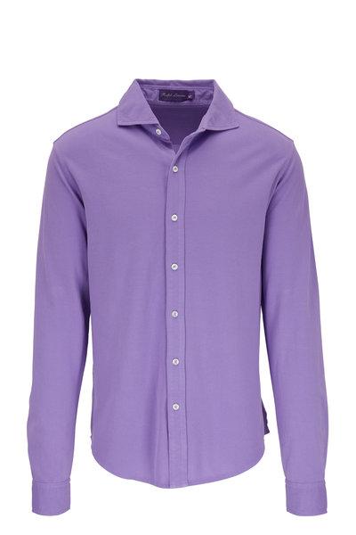 Ralph Lauren - Lavender Piqué Sport Shirt