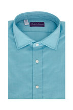 Ralph Lauren - Solid Blue Oxford Sport Shirt