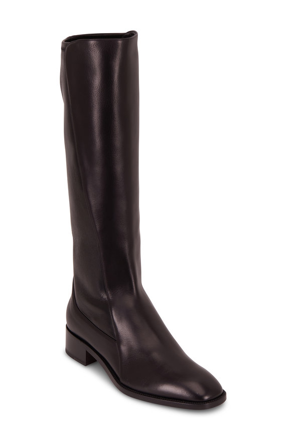 Christian Louboutin Tagastretch Black Nappa Stretch Tall Boot