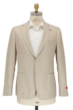 Isaia - Light Tan Wool Blend Sportcoat