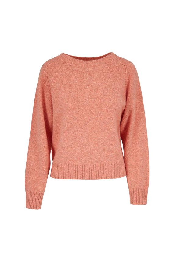 Vince Peach Blossom Cashmere & Silk Raglan Sweater