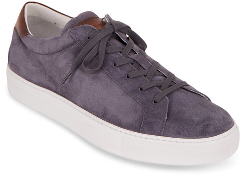 To Boot New York Pacer Slate Suede Sneaker