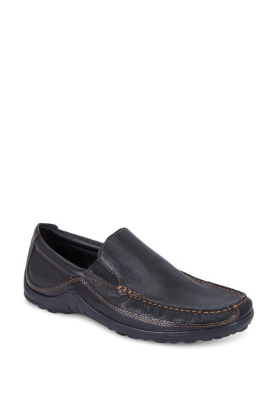 Cole Haan - Tucker Black Leather Venetian Loafer