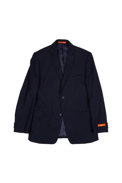 Hickey Freeman Children - Navy Blue Wool Boys Suit