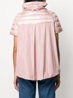 Herno - Blush Pink Contrast Back Puffer Jacket
