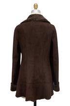Viktoria Stass - Brown Shearling Coat
