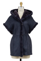 Viktoria Stass - Winter Mist Shearling & Mink Fur Vest