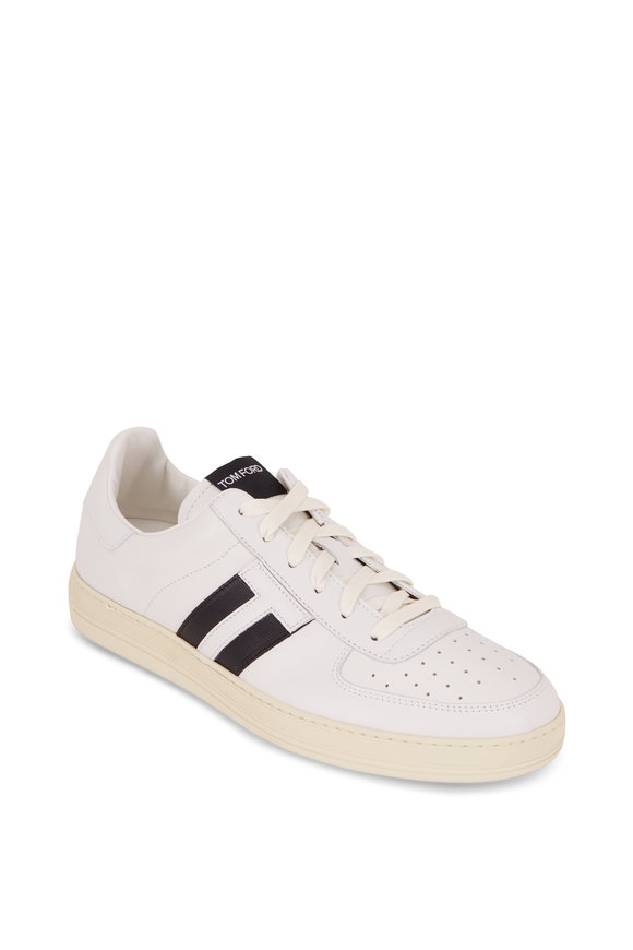 Tom Ford Radcliffe White Leather Low-Top Sneaker