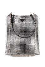 Prada - Argento Silver Crystal Small Bag