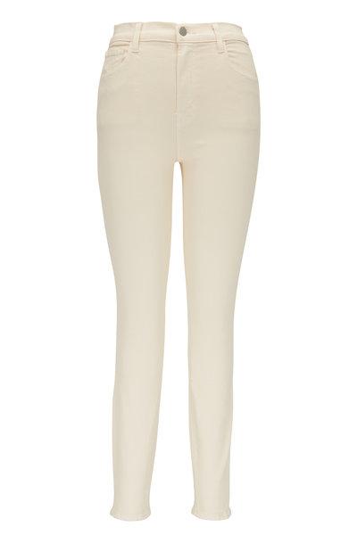 J Brand - Leenah Macadamia High-Rise Ankle Skinny Jean
