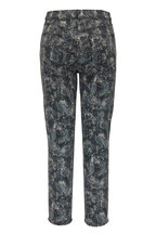 J Brand - Ruby Cape Mountain Printed High-Rise Cropped Jean