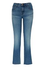 J Brand - Adele Sorority Raze Mid-Rise Straight Leg Jean