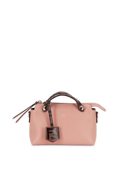 Fendi - By The Way Pale Pink Leather Mini Crossbody
