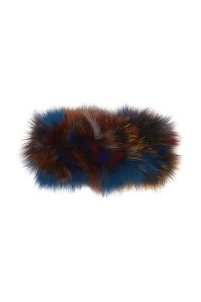 Viktoria Stass - Multicolor Fox Fur Headband