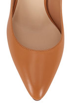 Francesco Russo - Light Tan Nappa Leather Classic Pump, 90mm