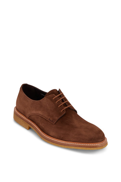 To Boot New York - Park Marrone Taupe Suede Buck Shoe