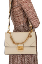 Fendi - Kan I Nude Leather Small Shoulder Bag