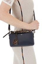 Fendi - By The Way Navy Blue Leather Mini Crossbody