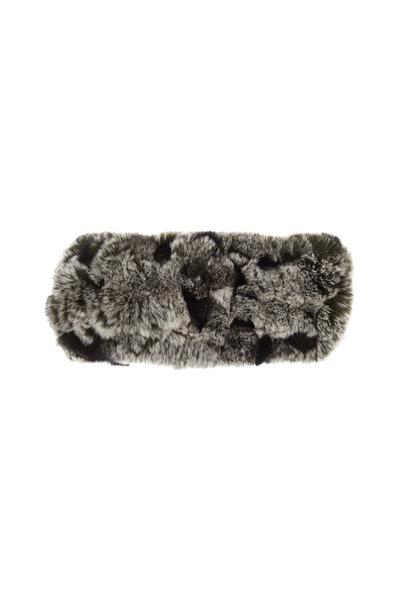 Viktoria Stass - Black & White Fur Headband